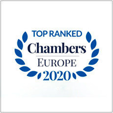 Top Ranked Chambers Europe 2020 Logo