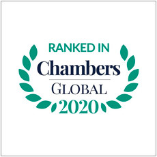 Top Ranked Chambers Global 2020 Logo